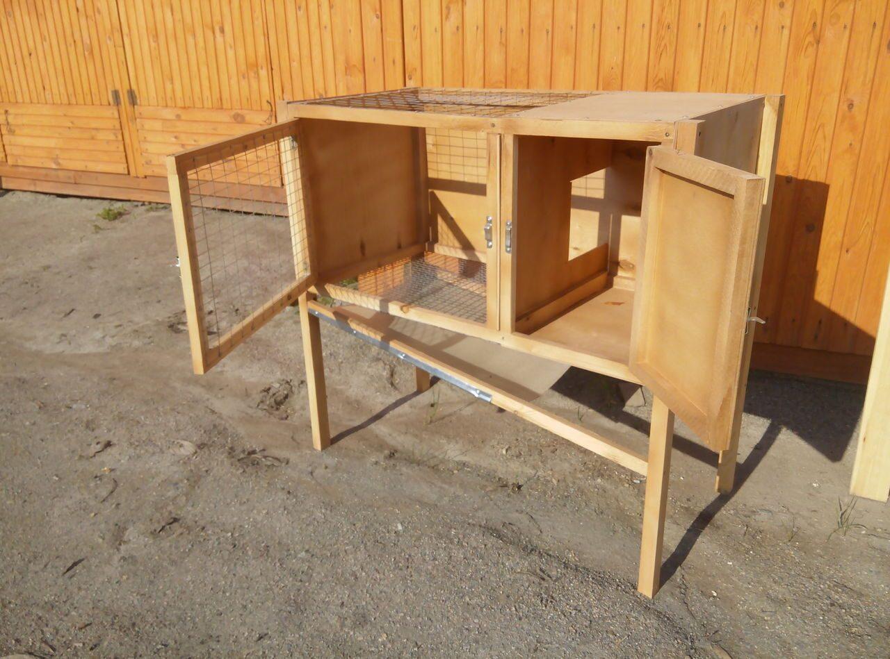 Как построить шеды для кроликов своими руками